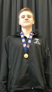 Trent Frandson, All-Iowa Swimming