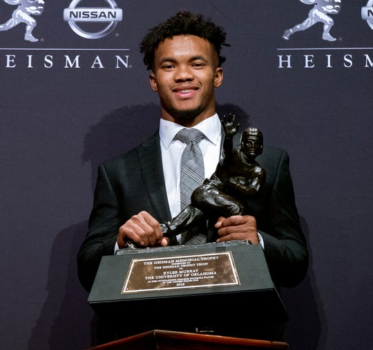 4. Oakland Raiders - QB Kyler Murray, Oklahoma: Jon Gruden was drooling over Murray at the Senior Bowl, and that was before Murray committed full-time to the NFL.