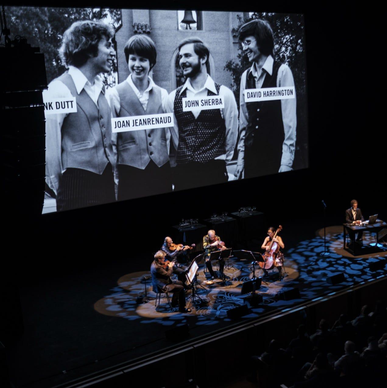 Kronos Quartet performance at Freep Film Festival blends documentary with live music