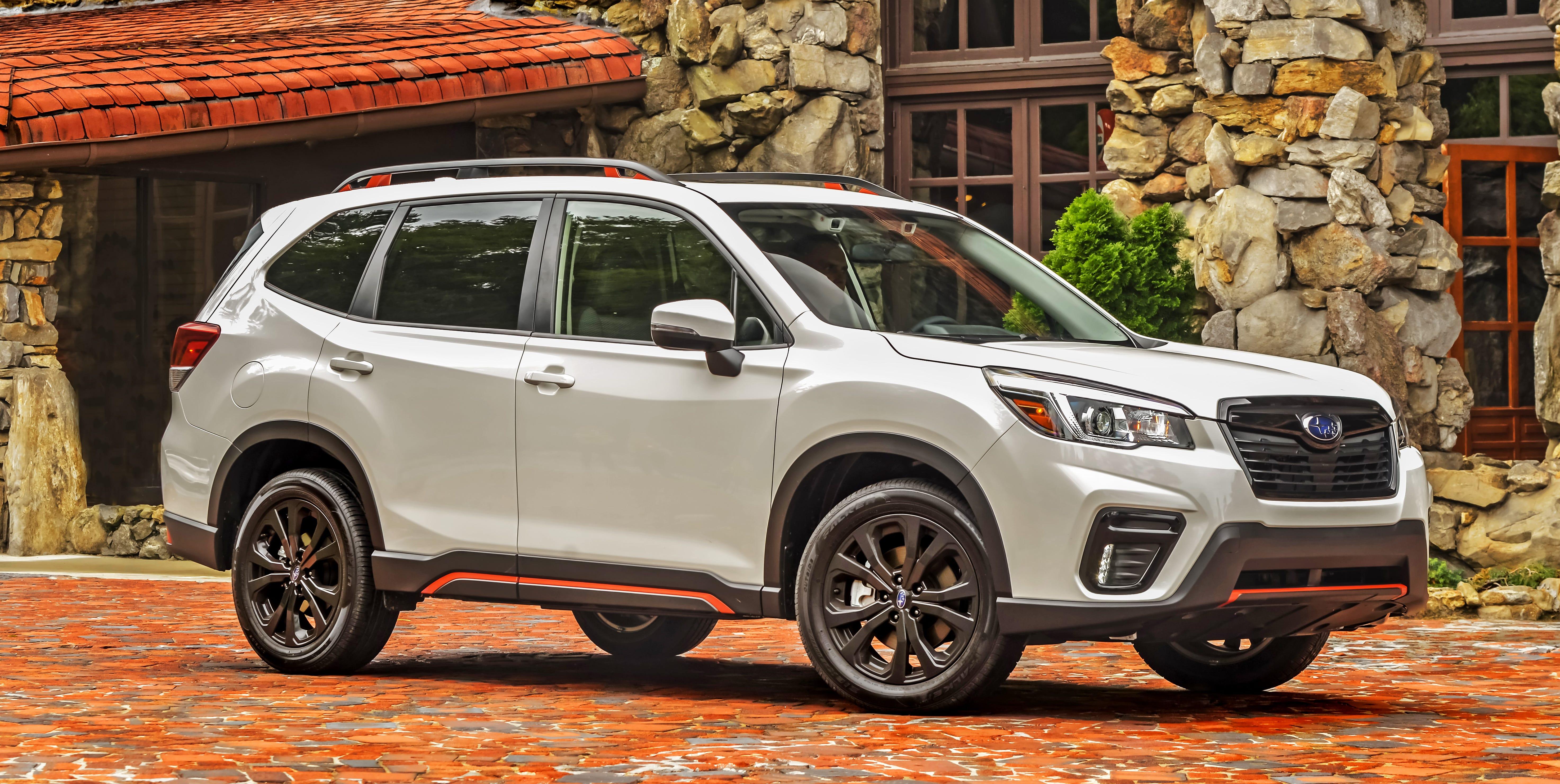 The 2019 Subaru Forester Sport