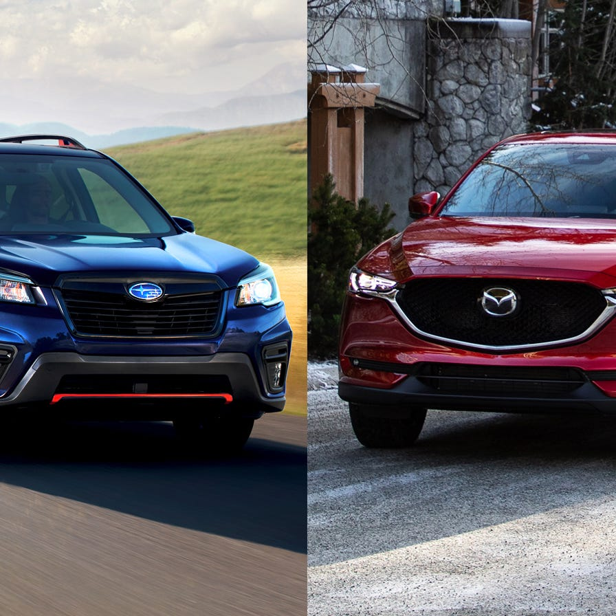 Payne: Best bargains, Mazda CX-5 vs. Subaru Forester