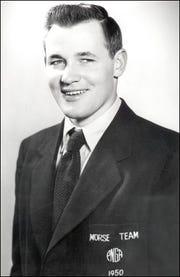 Al Mengert in 1950.