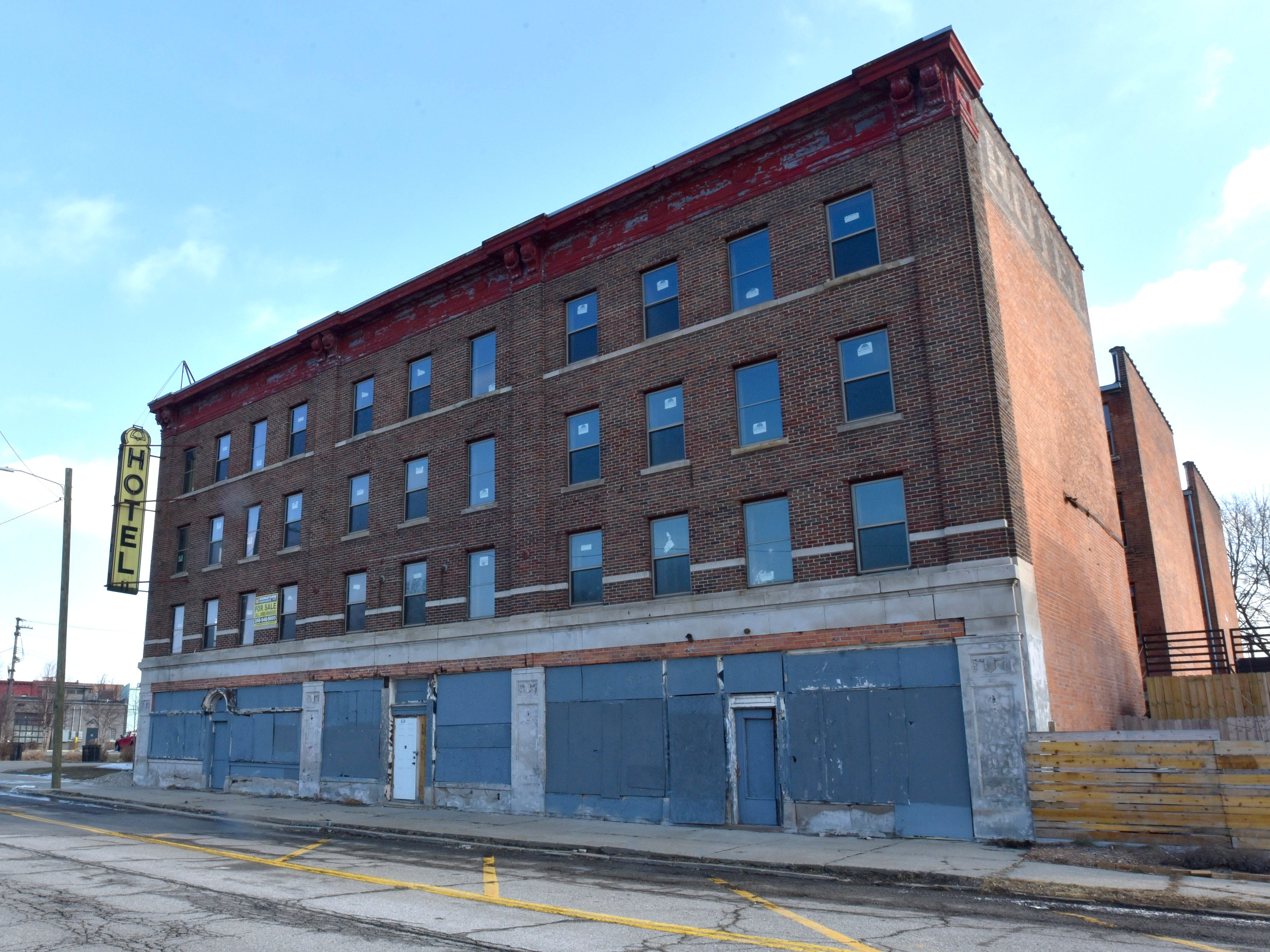 This is the former Roosevelt Hotel on 14th Street between Michigan Avenue and Dalzelle.