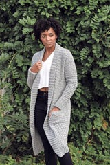 sweater cardigan by TL Yarn Crafts