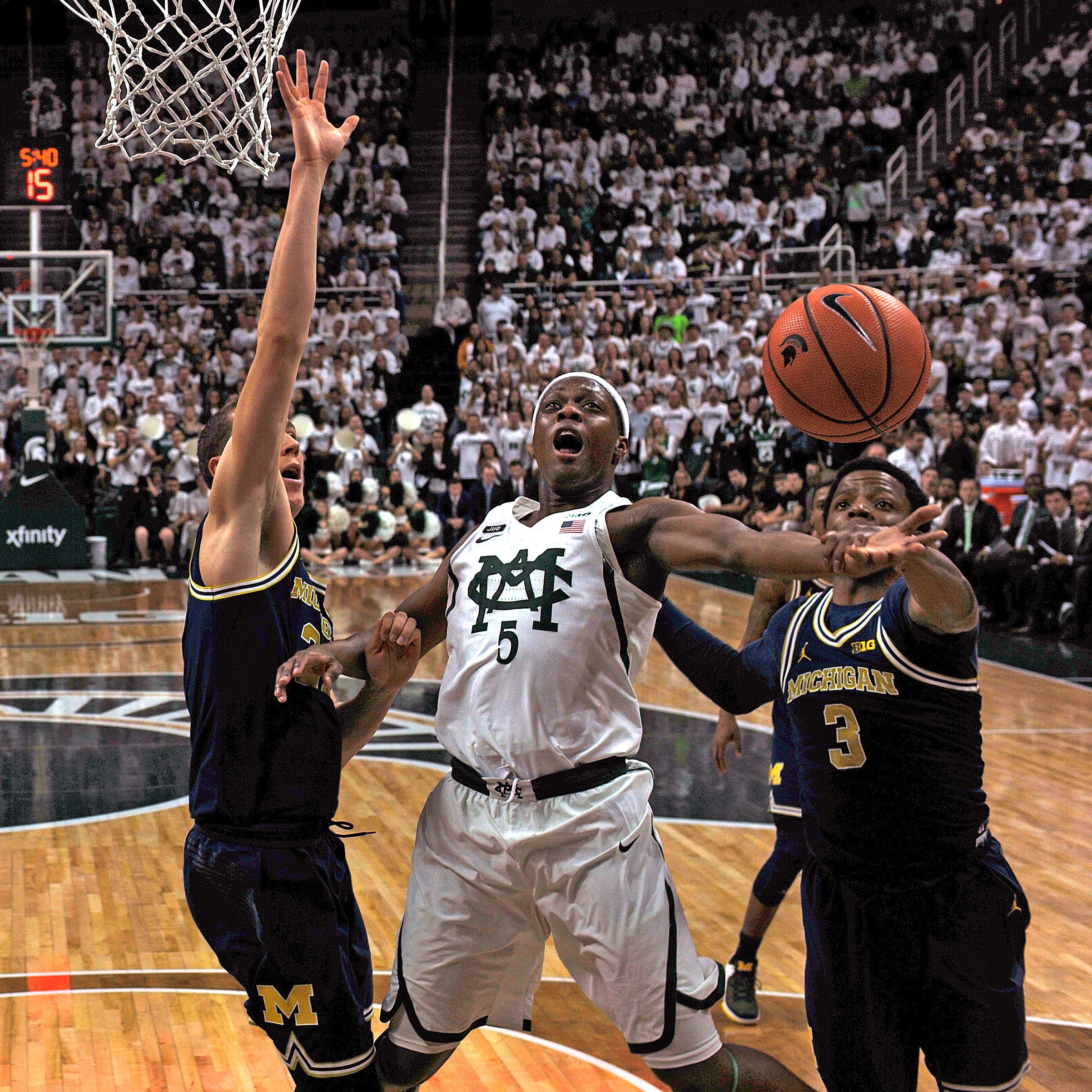 The matchup between Michigan State guard Cassius...