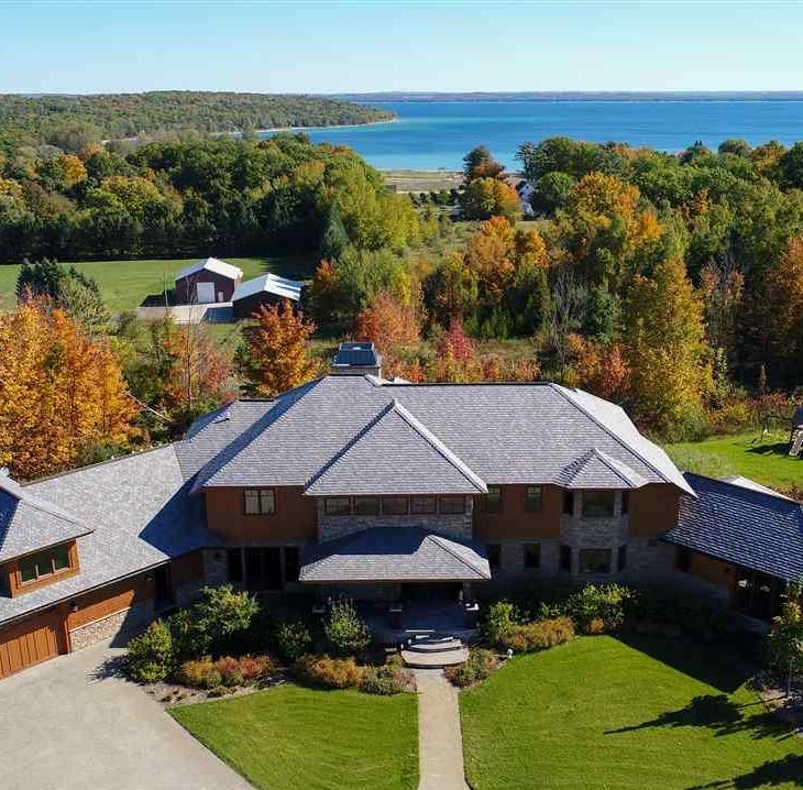 MI Dream Home: Vineyard, pastures enhance estate near Traverse City