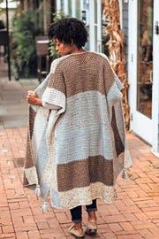 Patchwork kimono by TL Yarn Crafts
