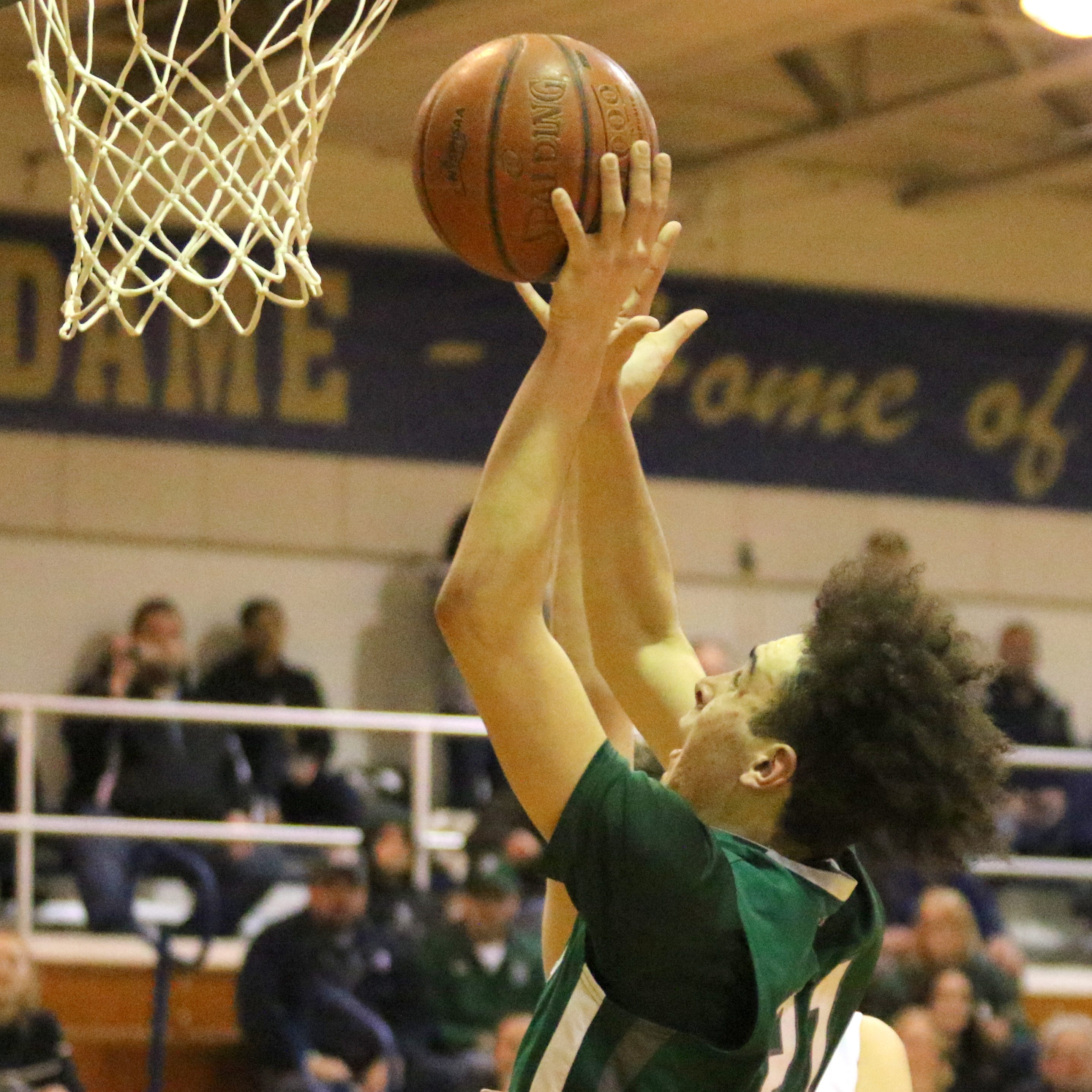 Class C boys: Wood's late 3-pointer helps Newfield hold off Notre Dame in opening round