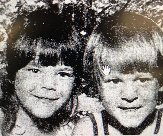 Lisa Gilligan (left) and Gregory Patrick Gilligan