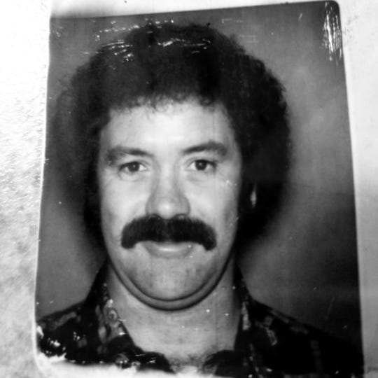 Retired Indiana State Police Detective Larry McCart during his undercover days.