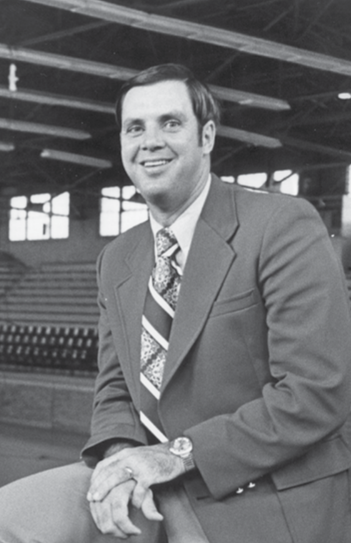 Former USI head coach and athletics director Wayne Boultinghouse won 111 games from 1974-81.