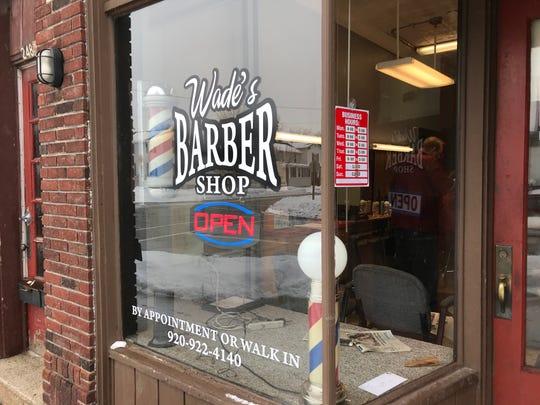 Wade's Barbershop, 226 S. Park Ave., Fond du Lac.
