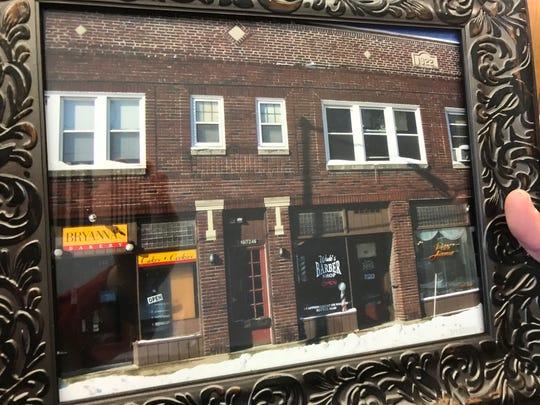 A photo of the Park Avenue storefront from Mostek's customer, Dr. Fuller McBride.