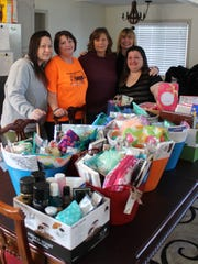 Simple Gestures donated hundreds of items to the Sober Living House in Port Clinton.