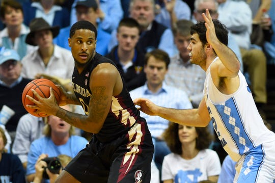 Phil Cofer and Florida State look to pull off a road upset over North Carolina at the Dean E. Smith Center on Saturday.