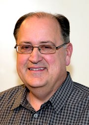 Nick Cafardo, former Boston Globe sports columnist, poses in this undated photo. Longtime Boston Globe baseball writer  has died after collapsing at the Red Sox's spring training ballpark. He was 62. The newspaper said Cafardo had an embolism Thursday, Feb. 21, 2019, and Red Sox medical staff was unable to revive him.