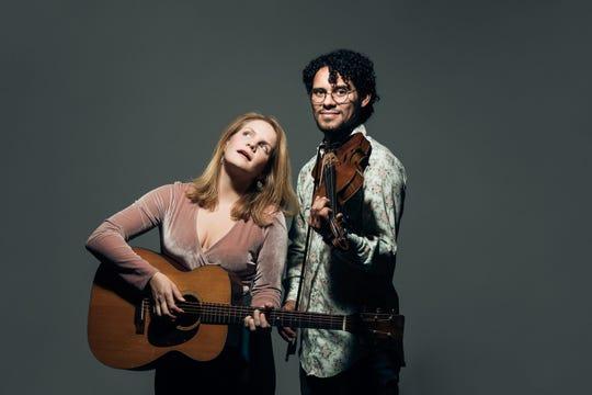 "Durham, N.C., ""psychedelic folk soul"" duo Violet Bell"