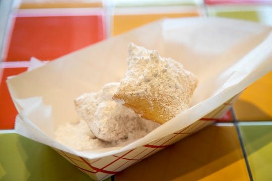 Beignets from BennettÕs Fresh Roast will be available on Mardi Gras.