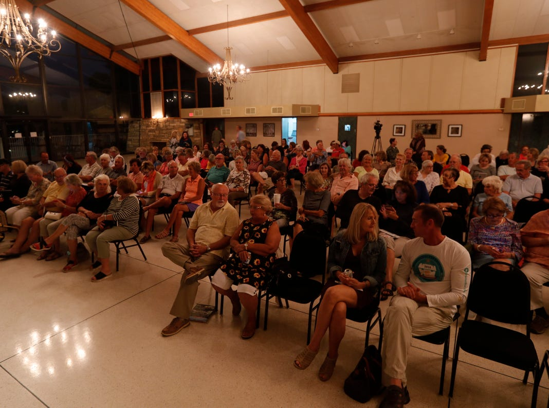 The latest presentation of the Storytellers Project was held at The Cape Coral Yacht Club, Wednesday, Feb. 20, 2019. The theme for the speakers was the great outdoors. The Tellers included: Melanie Payne, Stephanie Davis, Chad Gillis, Erik Elsea and Anne Reed. The Storytellers Project is part of a nationwide series of live events put together by USA TODAY NETWORK newsrooms sponsored by Humana.