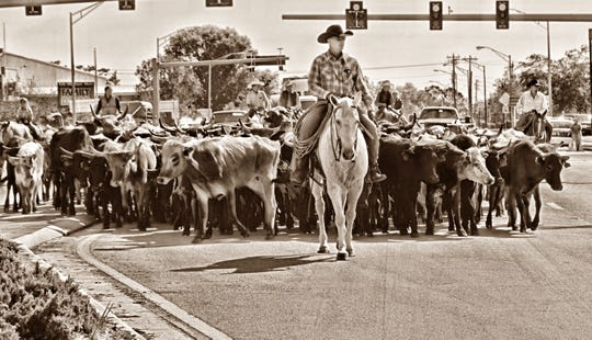 Trail boss Clint Raulerson handpicks the drovers who ride with him on the annual Cattle Drive.