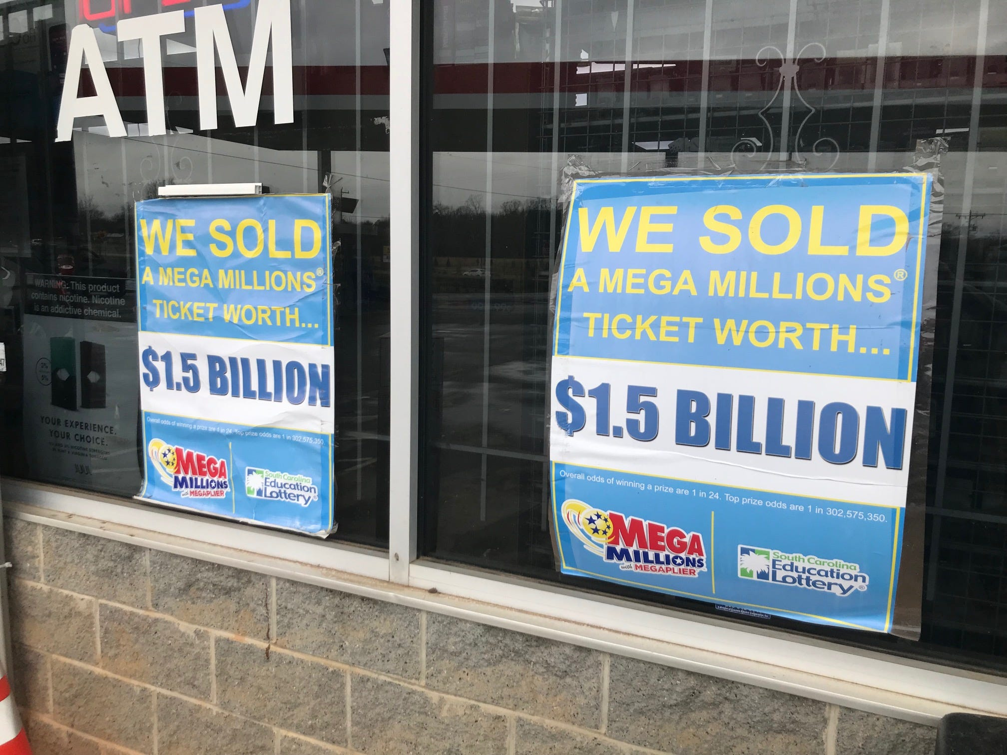 Winner of $1.5 billion Mega Millions jackpot has come forward in South Carolina