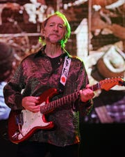 Peter Tork of The Monkees performs during the Mid Summers Night Tour at the Mizner Park Amphitheater on Saturday, July 27, 2013 in Boca Raton, Florida