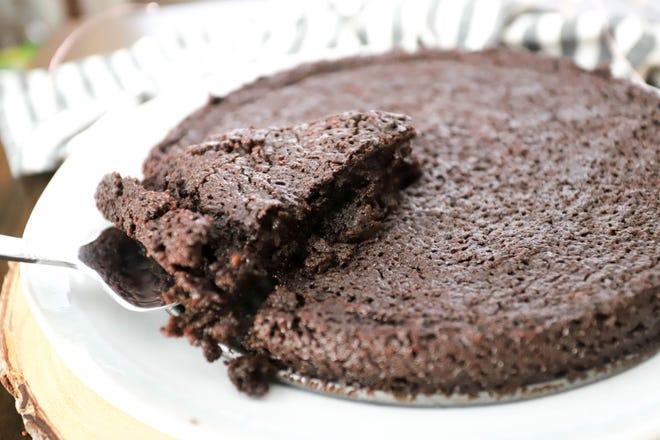SWEDISH GOOEY CHOCOLATE CAKE (KLADDKAKA)