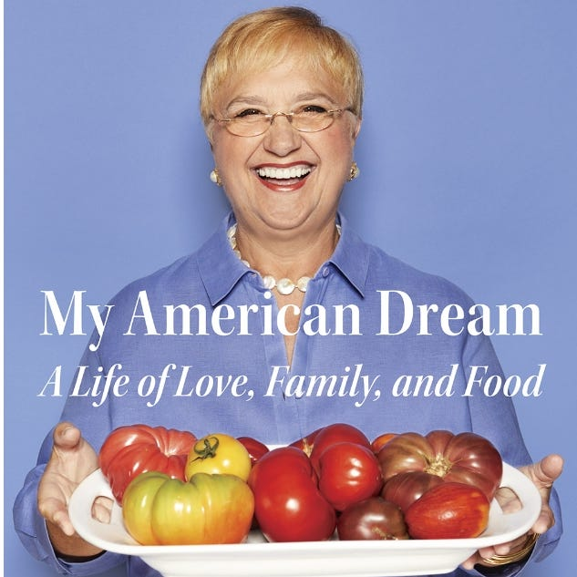 Bastianich's pursuit of the American Dream