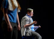 """Kaii Wilson performs in the Great Falls Public Schools production, """"Converge: E Pluribus Unum"""" on Wednesday night at Great Falls High."""