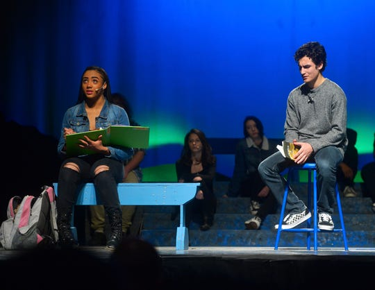 "Great Falls Public Schools presents the play ""Converge: E Pluribus Unum"" on Wednesday night at Great Falls High."
