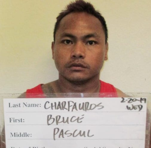 Bruce Charfauros allegedly brandishes pellet gun while yelling on the road