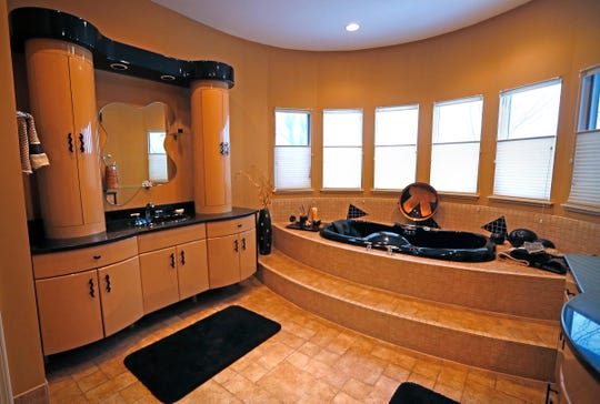 This is the master bathroom, at 16425 La Paloma Court, in Noblesville, Wednesday, Feb. 20, 2019.