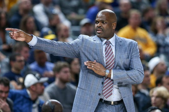 Pacers coach Nate McMillan has guided the Pacers to a top-3 seed in the East at the All-Star Break.  Jenna Watson/IndyStar Pacers coach Nate McMillan has guided the Pacers to a top-3 seed in the East at the All-Star Break.