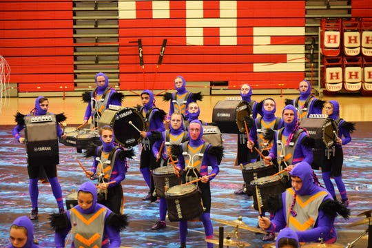 """We give clarity to the music and the movement; we have a few voiceovers that help to tell that story,"" said band director Eric Baumgardner. ""In the front ensemble we have five snares. The goal is to sound like one snare. We create 5 ½ minutes of a show and try to get it as crystal clear as possible."""