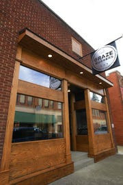 Graze Burgers has opened in downtown Sevierville.