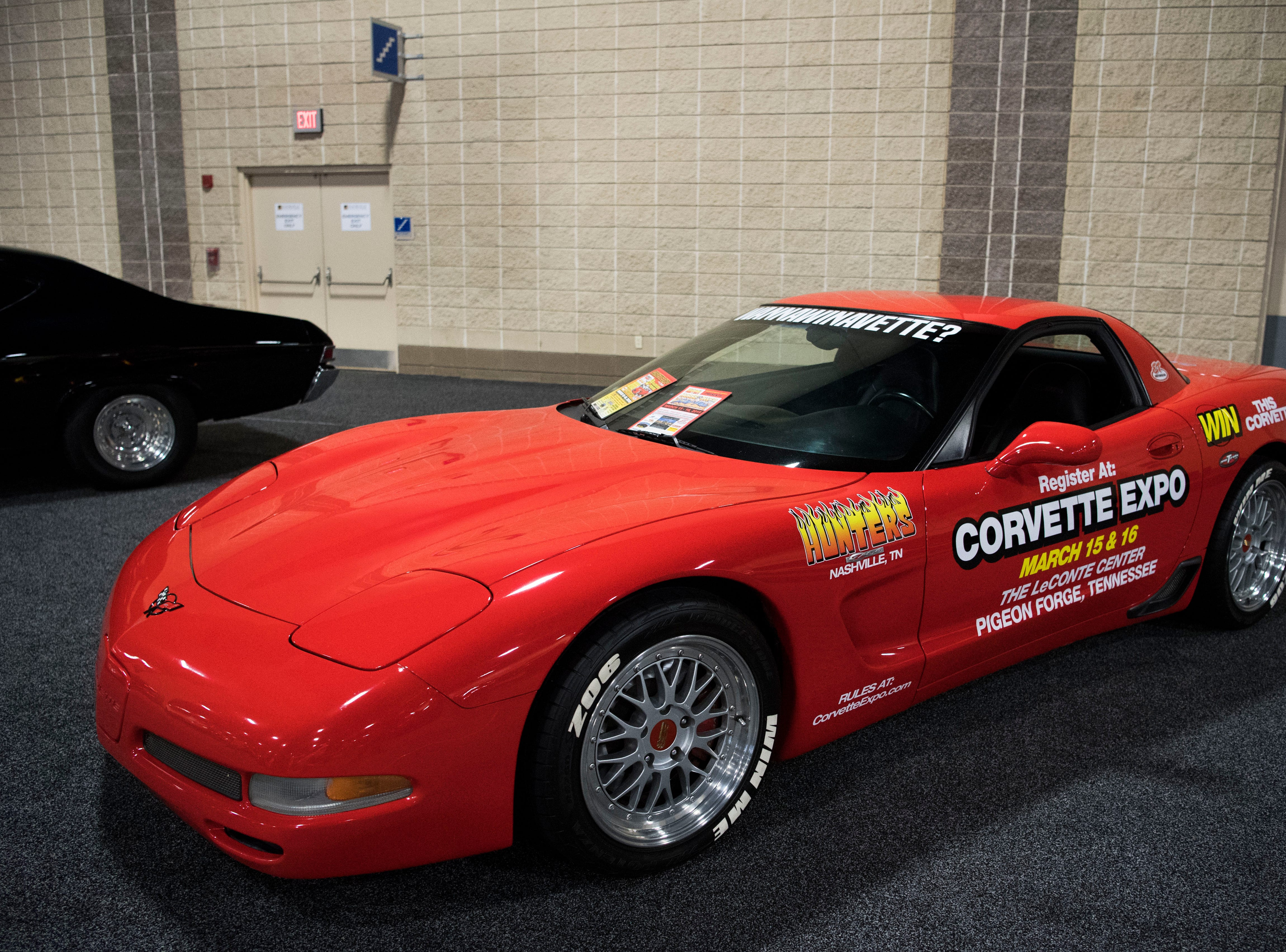 A classic car at the Knox News Auto Show Thursday, Feb. 21, 2019.