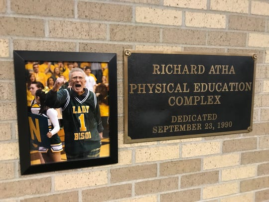 Benton Central's physical education complex was named for Dick Atha in 1990.