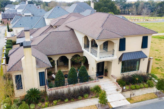 The home is located in the River Ranch development in Lafayette.