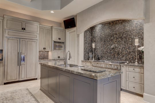 The kitchen is absolutely stunning and state-of-the art.