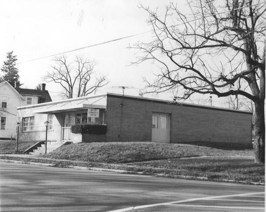 """This photo of the """"new"""" Jaycees' community center was taken in Dec. 1983. This new building was dedicated Nov. 15, 1964, and owned by the Jaycees until 2000. Photo is from the Historical Collection of the Fairfield County District Library."""