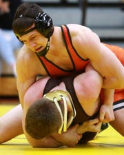 Top-ranked River Shettler of Brighton could potentially face second-ranked Dustin Solomon of Macomb Dakota at 171 pounds in the state quarterfinals.