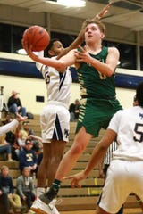 Josh Palo, who recently scored his 1,000th point, leads Howell into the district basketball tournament at Hartland.