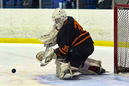 Brighton goalie Harrison Fleming made 25 saves in a 1-1 tie against Birmingham Brother Rice.