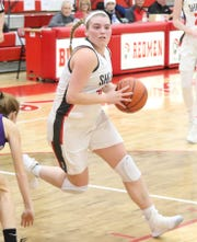 Shelby's Bailey Walter was named the 2019 Co-Mansfield News Journal Girls Basketball Player of the Year.