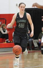 Madison's Brooklynn Arnold sank two huge free throws with a second left to help the Lady Rams beat Ontario on Wednesday.