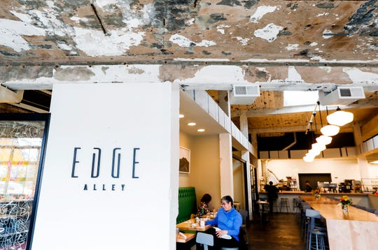 Edge Alley serves innovative fare made from scratch.