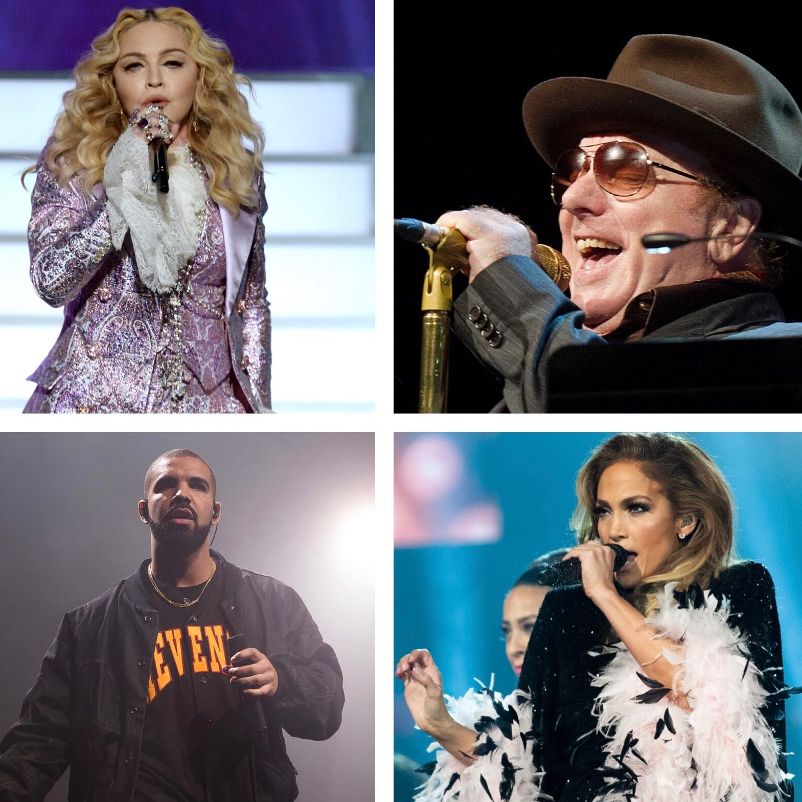 From Jennifer Lopez to Madonna, 27 acts who haven't performed in Milwaukee in over a decade — or ever