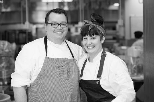 Kurt Fogle and Katie O'Neil are collaborating on Milk Bottle Bakery for 3rd Street Market Hall. Fogle is opening Milk Bottle and Milk Can Hamburgers & Frozen Custard with his Bass Bay Brewhouse partners, along with more food hall stalls to be announced.