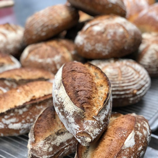 Sourdough and other breads will be sold at Milk Bottle Bakery, part of the downtown Milwaukee food hall coming late this year.