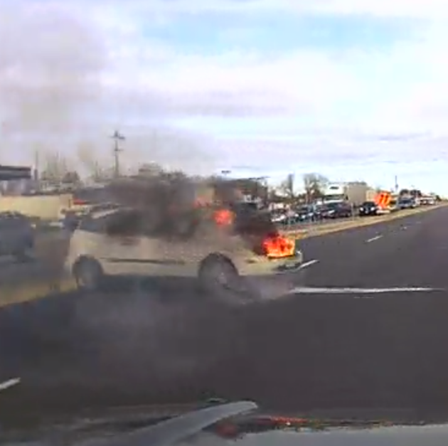 Hales Corners firefighters didn't respond to a car fire a mile away from the department